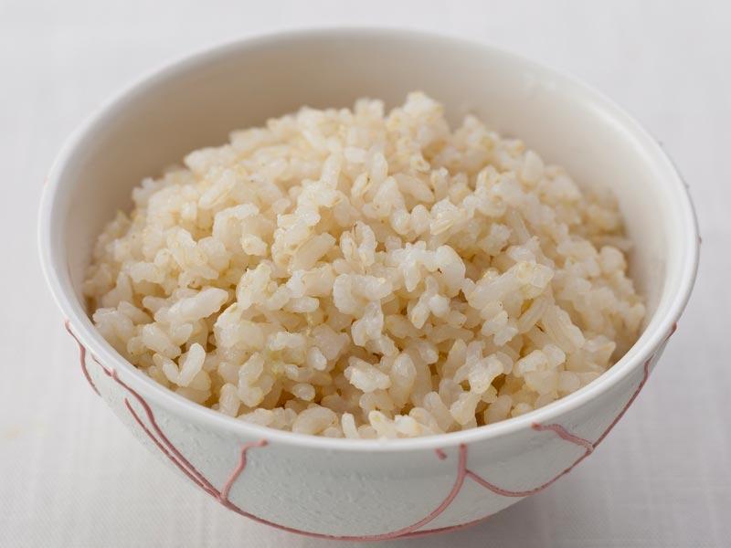 金芽ロウカット玄米炊飯後
