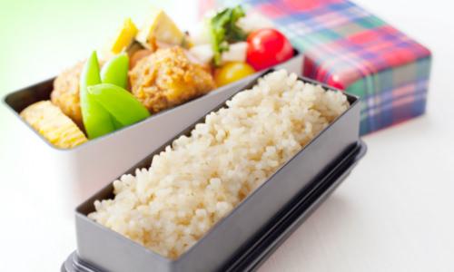金芽「ロウカット」玄米:お弁当