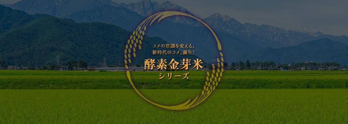 酵素金芽米シリーズ